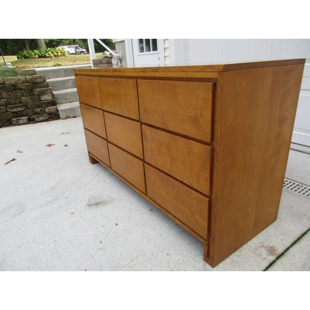 Leslie Diamond For Conant Ball Nine Drawer Dresser - Image 5 of 10