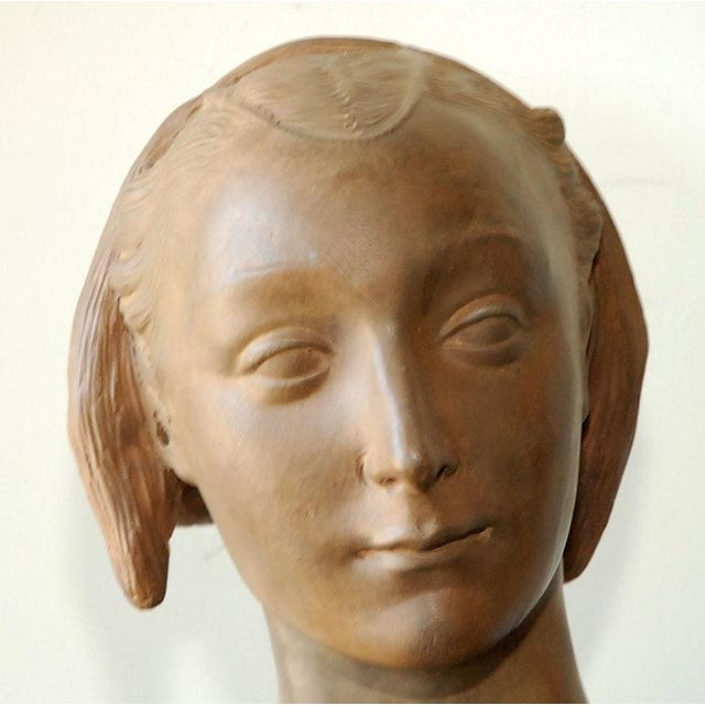 Renaissance Style Italian Bust of a Woman #2 - Image 3 of 8
