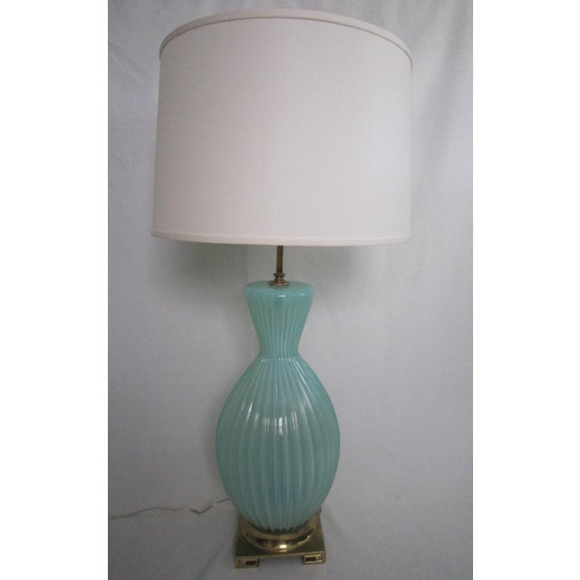 Vintage Murano Glass Lamp - Image 3 of 6