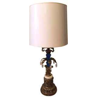 Regency Brass Vintage Lamp