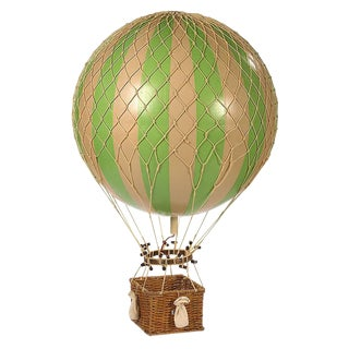 Hot Air Balloon- Green- Large