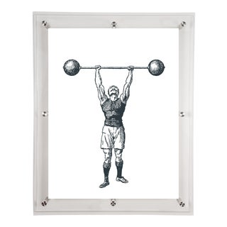 Mitchell Black Home Black Strongman Art