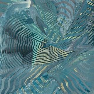 Charybdis, 2017, Acrylic on panel by Lorene Anderson.