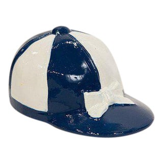 Blue Jockey Cap Bottle Opener