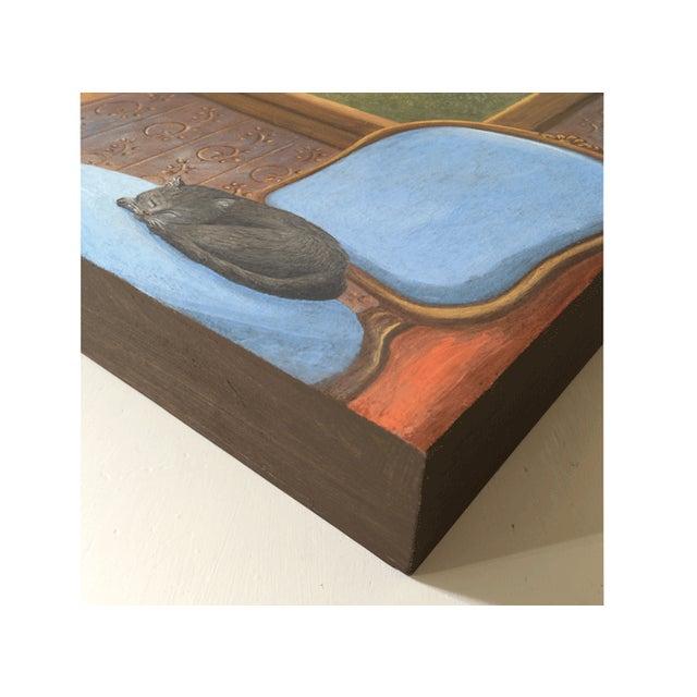 June Parrish Cookson Original Casein Painting - Image 6 of 6