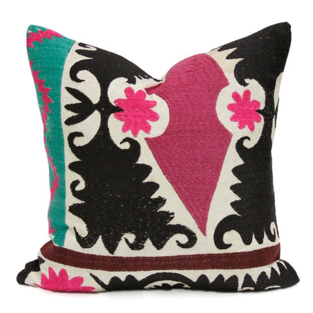 Suzani Fuchsia Pillow - Image 1 of 3