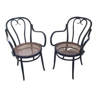 Thonet Bentwood Bistro Cafe Chairs - a Pair