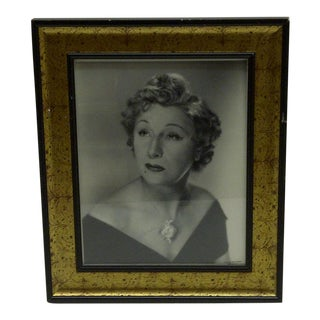 Circa 1930 Vintage Black & White Signed Photograph