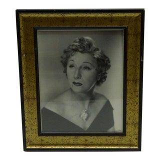 Circa 1930 Vintage Black & White Signed Photograph