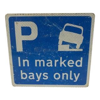 Vintage English Street Sign