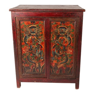 Painted Tibetan Chest