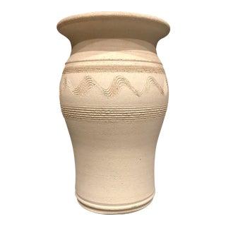 Timpanogos Pottery White Vase