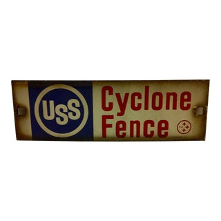Vintage United States Steel Company Porcelain Sign
