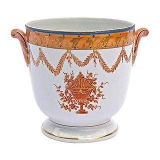 Vintage Porcelain Floral Urn/Cachepot
