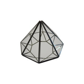 Glass Diamond Terrarium