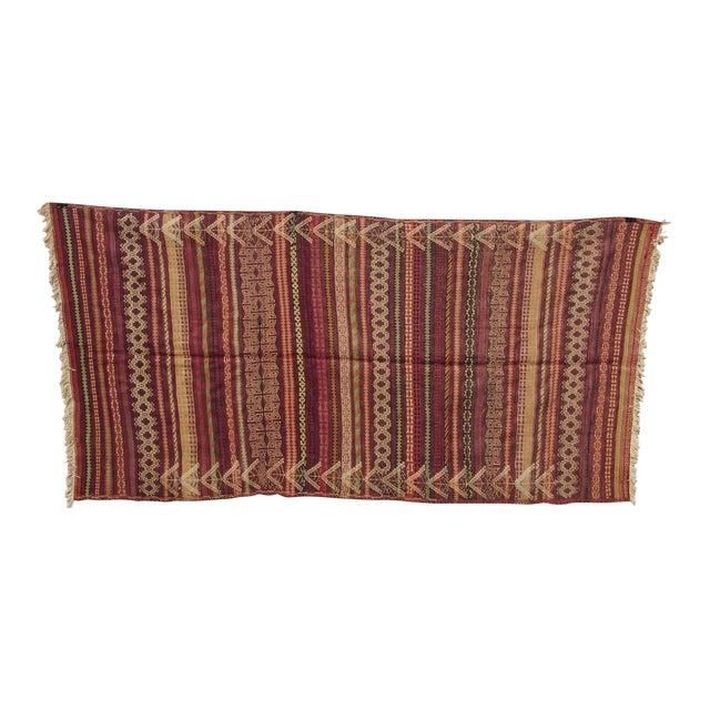 Traditional Handmade Kilim Rug - 4′6″ × 8′1″ - Image 1 of 9