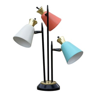 Mid-Century Modern Enamel Table Lamp