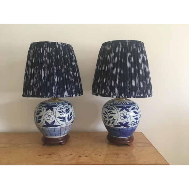 Chinoiserie Ginger Jar Lamps - A Pair - Image 2 of 8