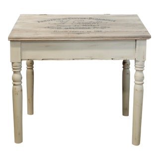 Antique French Script Writing Desk