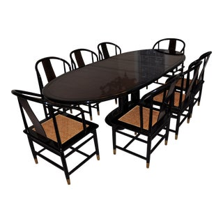 Henredon Art Deco Dining Set - Set of 9
