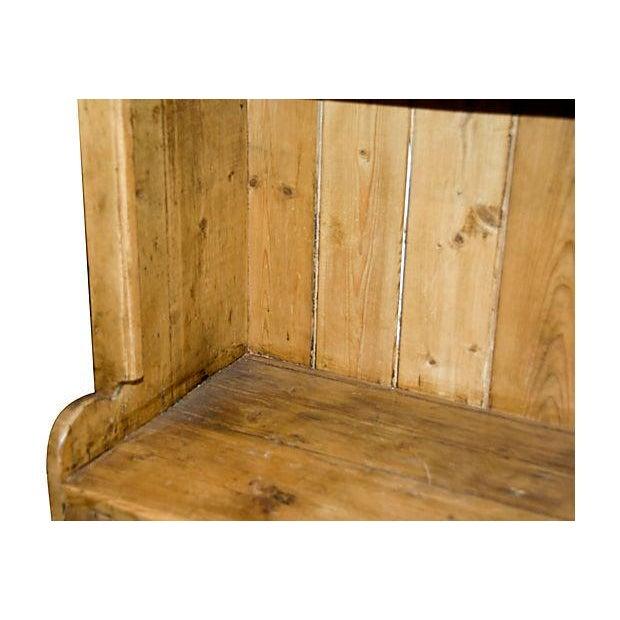 Antique Irish Pine Cupboard - Image 4 of 6