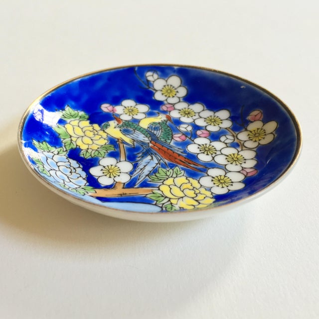 Antique Japanese Decorative Dish - Image 3 of 5