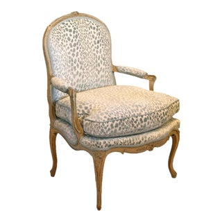 18th Century French Painted Fauteuils