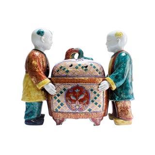 Chinese Ceramic Sahumador