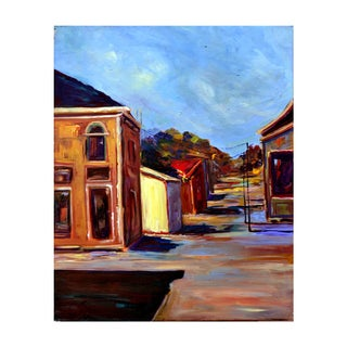 Old Pacific Grove Street Painting