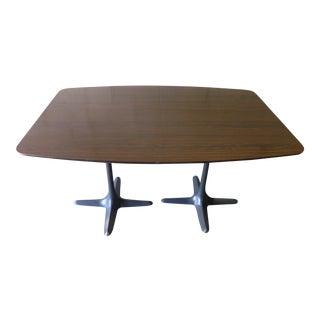 Mid Century Modern Rosewood Saarinen style Dining Table
