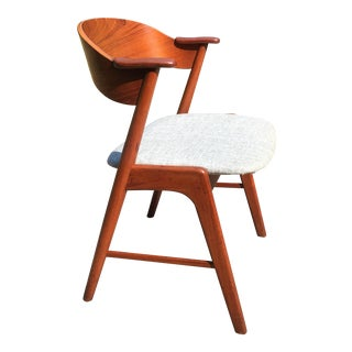 1960s Danish Modern Teak Dining Chairs by Kai Kristiansen for Korup Stolefabrik