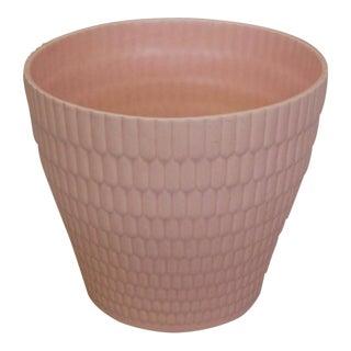 Dorothy Draper Style Pink Planter Pot