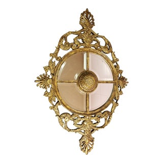 La Barge Ornate Baroque Gold Gilt Beveled Wall Mirror