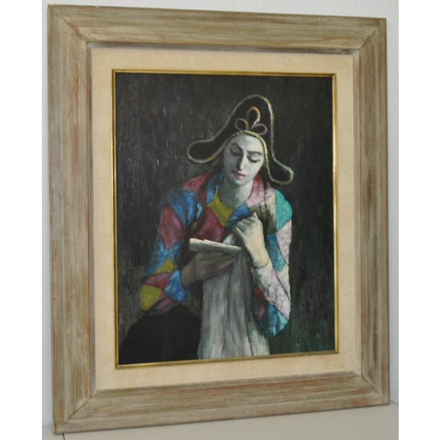 Vintage Painting After Picasso C.1970 - Image 2 of 7