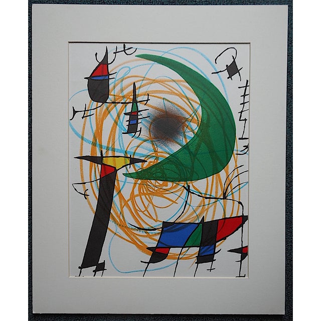 Vintage Ltd. Ed. Joan Miro Lithograph - Image 2 of 4