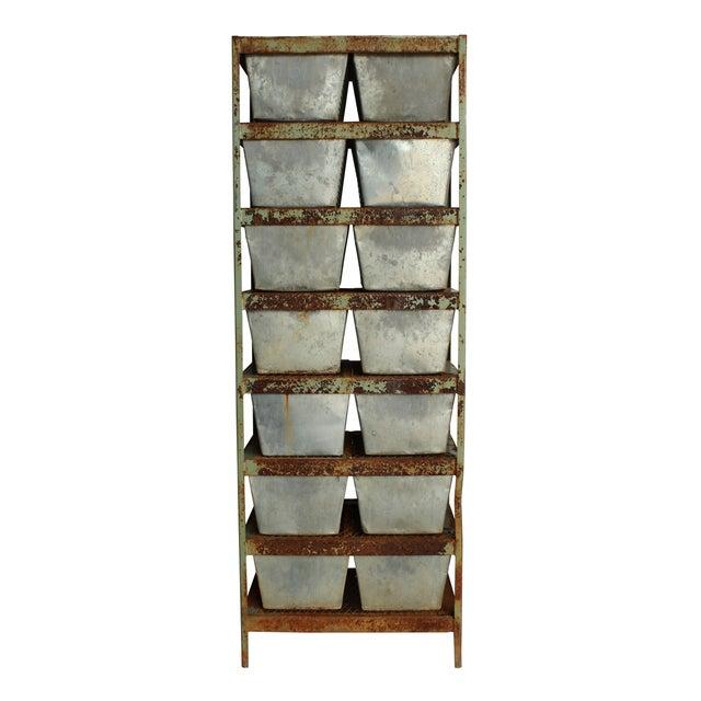 Vintage Locker Basket Unit - Image 3 of 3