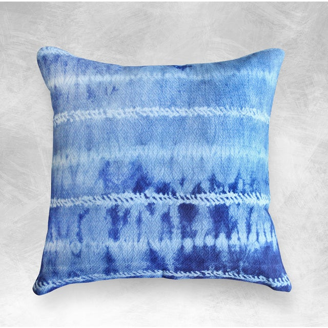 "Image of New Tie Dyed ""Shibori Avani"" Handmade Bali Pillow"