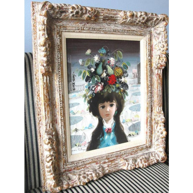 """Jean Calogero Oil Painting """"Patrizia"""" (signed) - Image 2 of 8"""