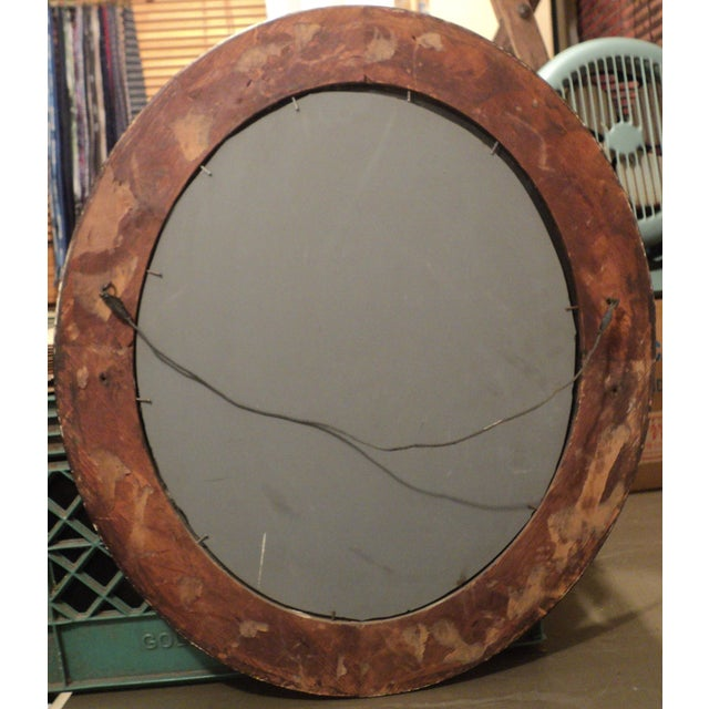 Antique Oval Hanging Mirror - Image 11 of 11