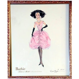 "Robert Best Limited Edition ""Blush"" Barbie Print"
