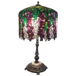 Image of Wisteria Tiffany Style Table Lamp