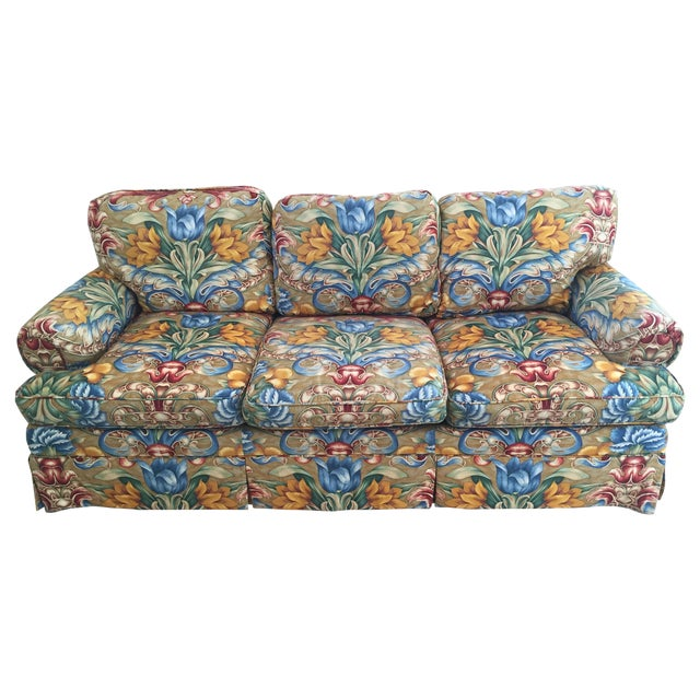 Custom Upholstered Couch - Image 1 of 3