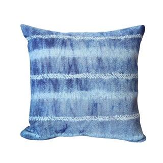 """""""Shibori Avani"""" Indigo Shibori Pillow"""