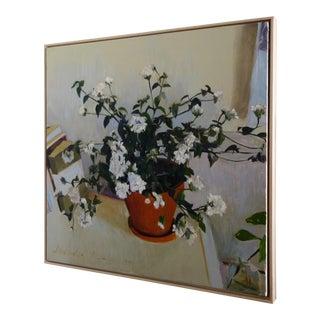 Original Floral Impressionist Oil Painting
