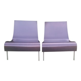 Barbara Barry for Hbf Drape Chair - a Pair