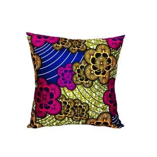 Fem Echo Ankara Fabric Pillow Covers - A Pair