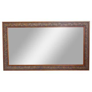 Copper Leaf Border Mirror