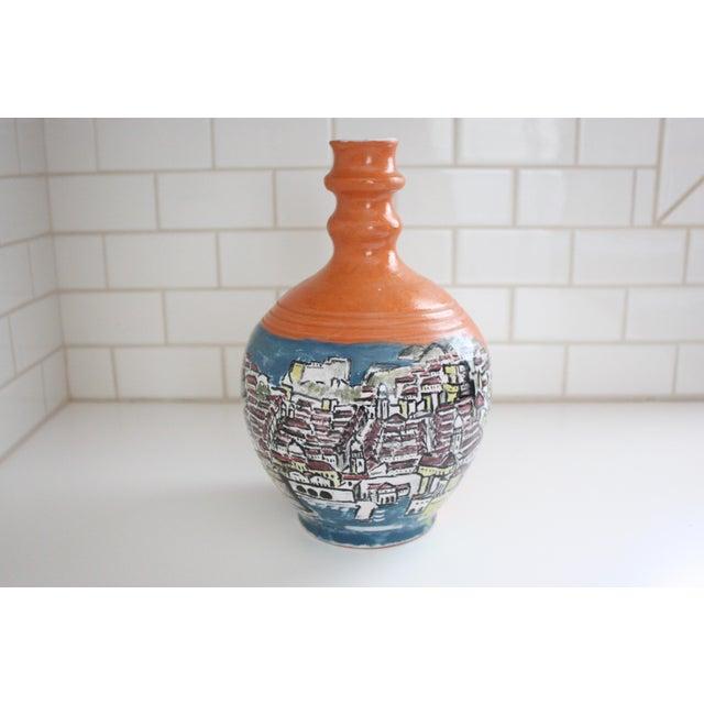 Mediterranean Jug Vase - Image 3 of 9