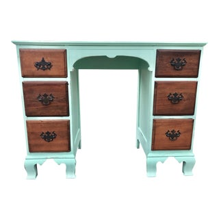 Farmhouse Spring Green Desk
