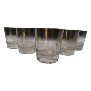 Dorothy Thorpe Silver Ombre Glasses - Set of 5